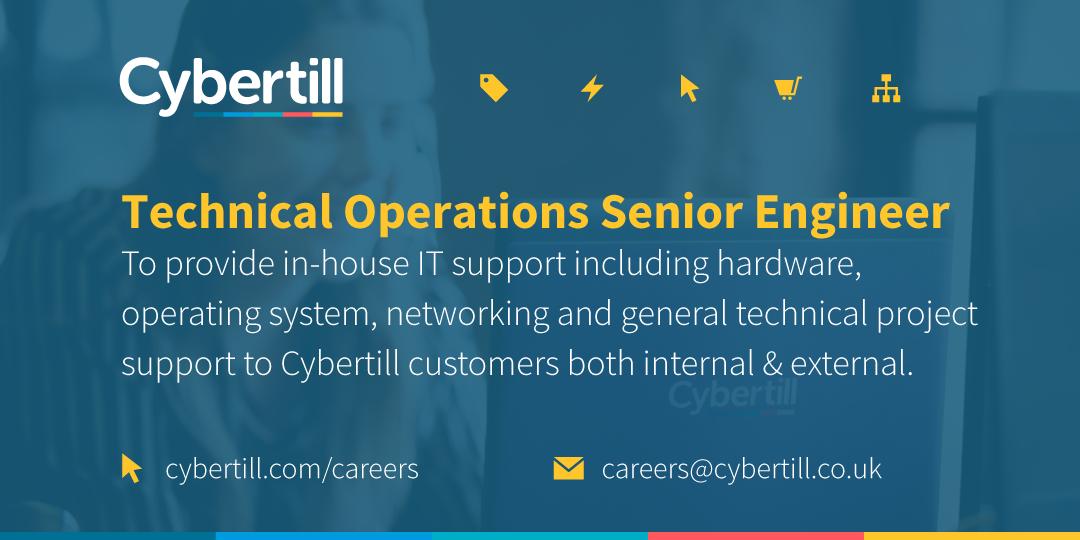 Technical Operations Senior Engineer