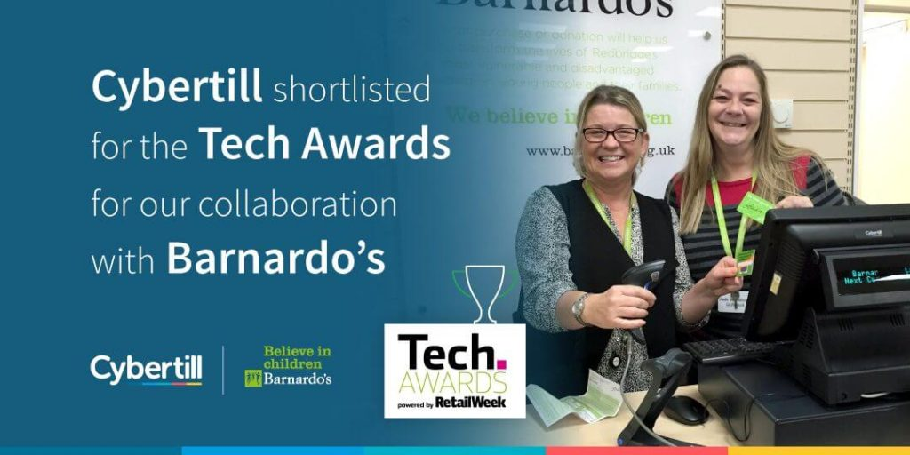 Cybertill nominated for Retail Tech Award!