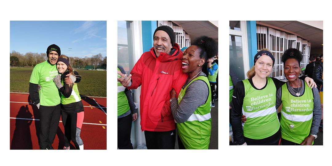 Karen's London Marathon diary: Barnardo's training day