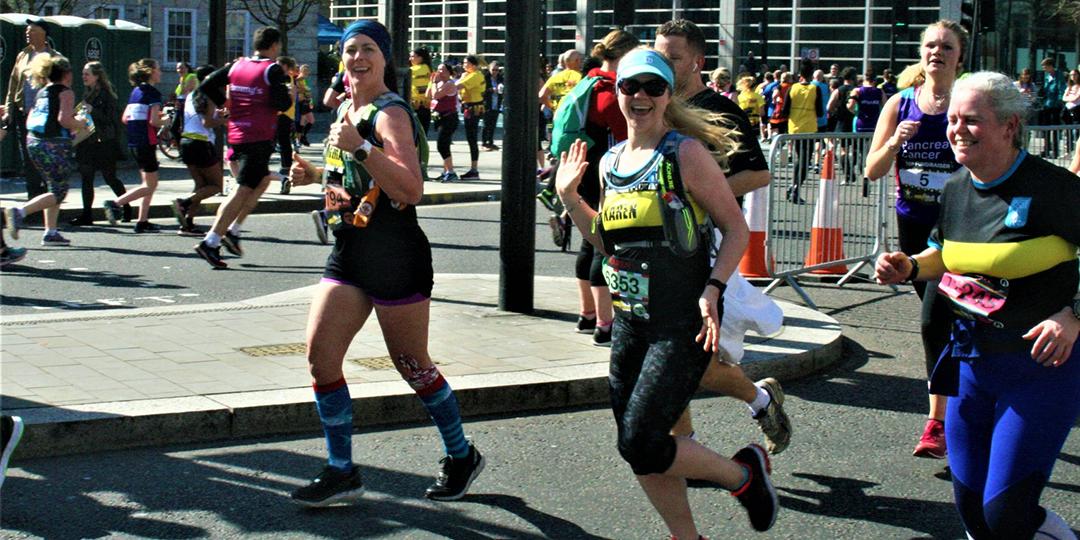 Karen's London Marathon diary: March madness