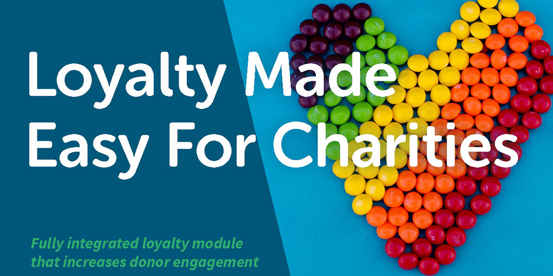 Loyalty programmes for charity retailers