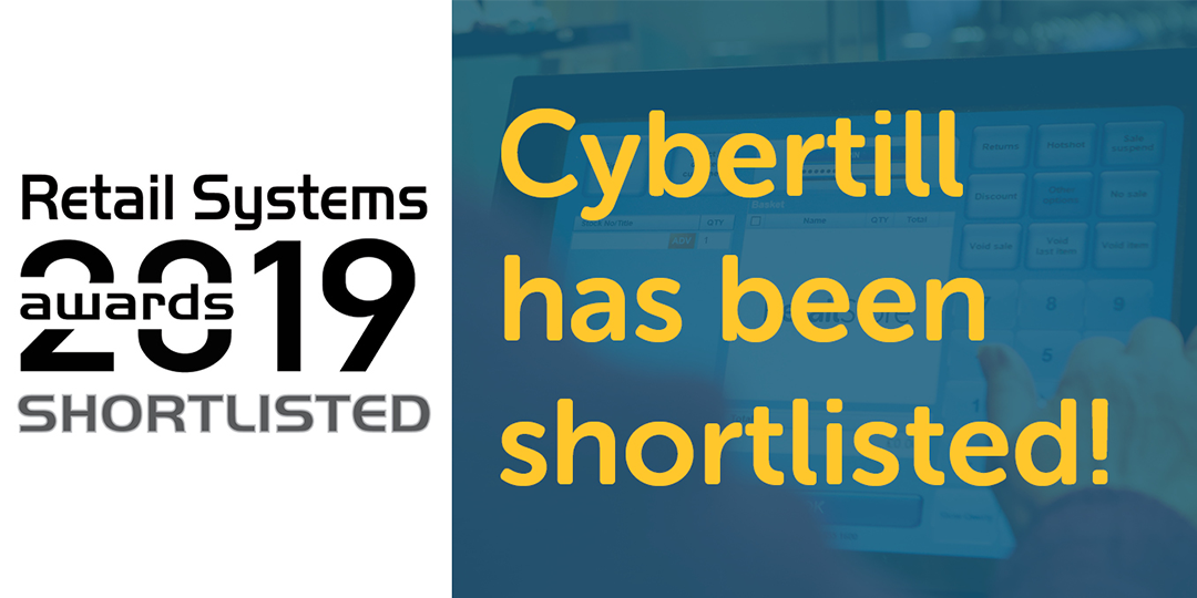 We've been shortlisted! Retail Systems Awards 2019