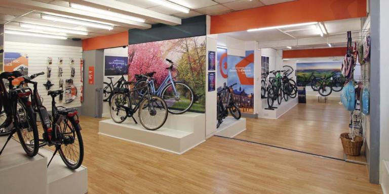 JE James Cycle retailer case study